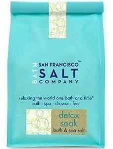 San Francisco Salt Company Detox Remoje Las Sales De Baño, 2