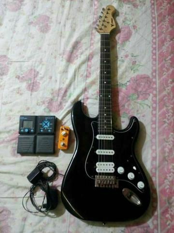 2 Pedaleiras E 1 Guitarra