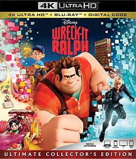 4k Ultra Hd + Blu-ray Wreck It Ralph / Ralph El Demoledor