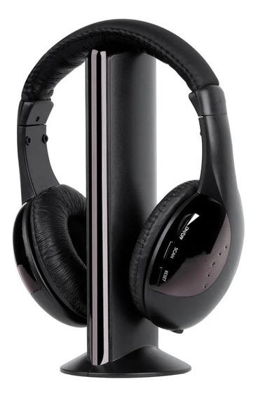 Kit C/ 2 Fones Ouvido Headphone Wireless 5x1 Sem Fio - Kp323