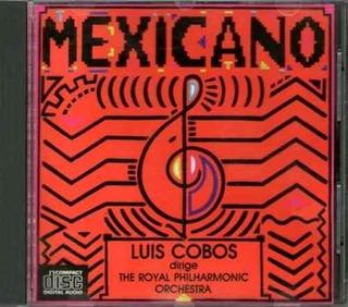Luis Cobos Philarmonic Orch Mexicano Cd Import Usa