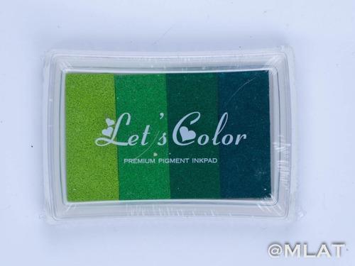 Almohadilla Multicolor Para Sellos