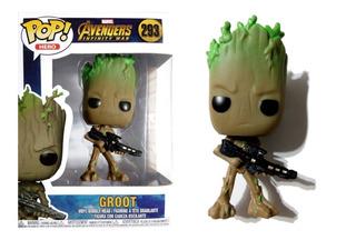 Muñeco Groot Símil Funko Pop! #293 Articulado 9 Cm