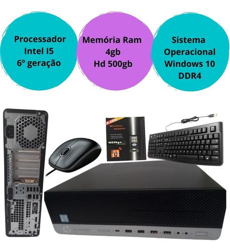 Computador Intel I5 6ºgeração 4gb Hd 500gb+placa De Vídeo