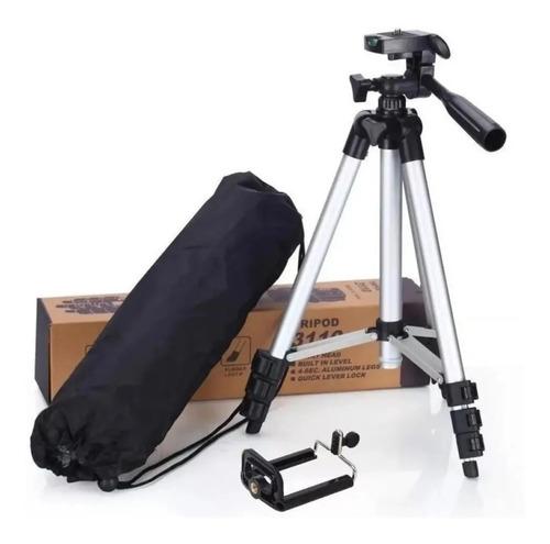 Tripé Universal Fotográfico Câmera E Celular Suporte 1,20m