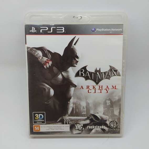 Batman Arkham City Ps3 Mídia Física Usado Original Físico