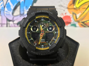 Relógio Casio Gshock Ga100by1a Original Estados Unidos