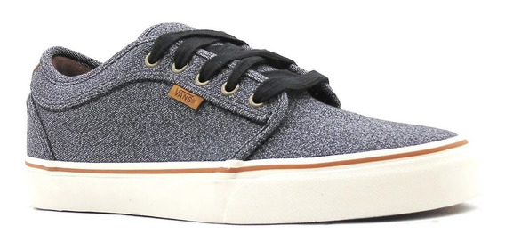 Tênis Vans Chukka Low Covert Twill Black 8077 Original