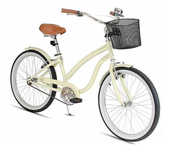 Bicicleta Turbo Urbana Retro R24 Calidad Comodidad Y Estilo