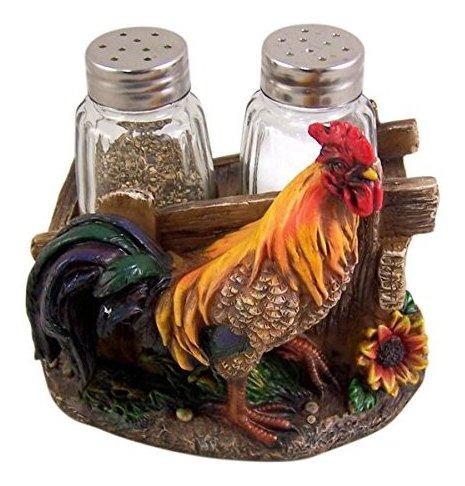 Agitadores De Sal Y Pimienta Shaker Shaker De Farm Rooster I