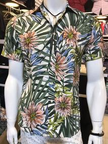 Camisa Floral Estampa Florida Masculino Importado2019