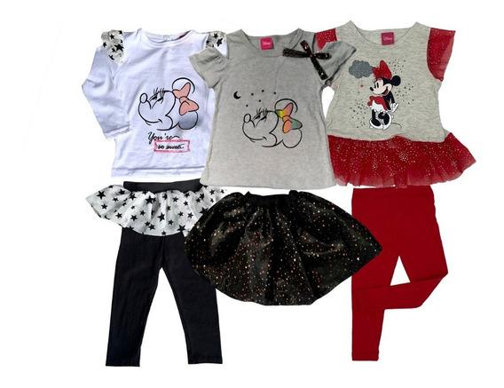 Kit 3 Conjuntos Disney Minnie A Precio De 2.