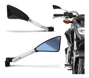 Retrovisor Moto Esport Tipo Rizoma Alumínio Z650 Z900 Z1000
