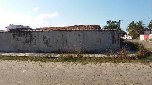 Terreno De Esquina Escriturado No Cibratel-itanhaém 4250 Npc