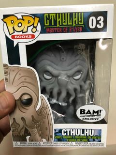 Funko Pop! Cthulhu Exclusivo Bam Master Of Rlye Único!