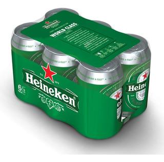 Cerveza Heineken Lata 354 Ml X6 - Perez Tienda -