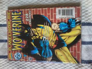 O Melhor De Wolverine 1 Formatinho Editora Abril