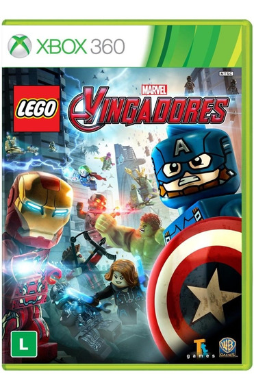 Lego Marvel Vingadores - X360