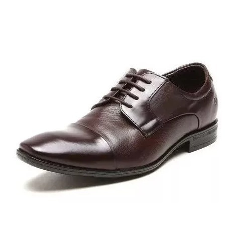 Zapato De Cuero Democrata Hombre Air Class 167103