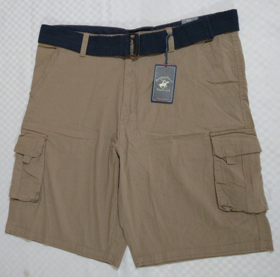Shorts/bermuda Beverly Hills Polo Club Talla 44 Con Cinto