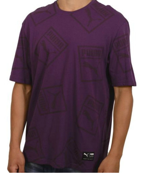 Remera Puma Hombres Graphic Downtown Tee-57672216