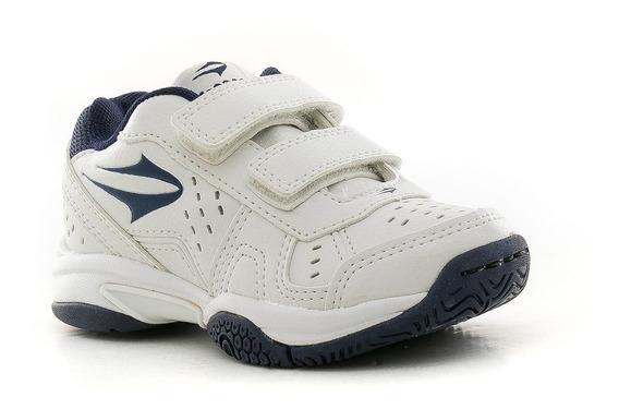 Zapatillas Rookie Velcro Kids Blanco Topper