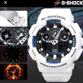 Relógio Branco Masculino Gshóckis G110 E G100