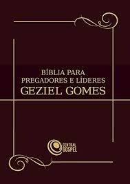 Bíblia Para Pregadores E Líderes Geziel Gomes - Marrom