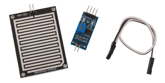 Sensor Detecção De Chuva Modulo Umidade
