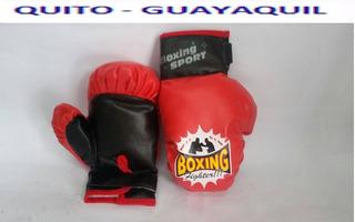 Guantes Acolchados De Boxeo