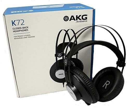 Fone De Ouvido Akg K72 Melhor Que Akg K52 Frete Grátis