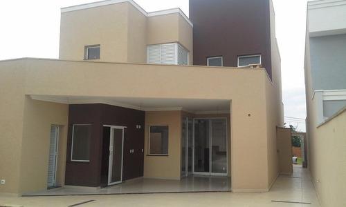 Casa Residencial À Venda, Condomínio San Marco- Ilha Savóia, Bonfim Paulista - Ca0005 - Ca0005