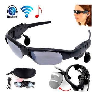 Lentes Bluetooth Hd Con Audifonos Incorporados + Estuche