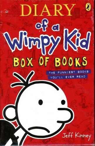 Diary Of A Wimpy Kid (boxed Set X 4) - Kinney Jeff