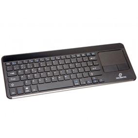 Teclado Multimídia Wireless Sem Fio Com Touchpad Goldentec