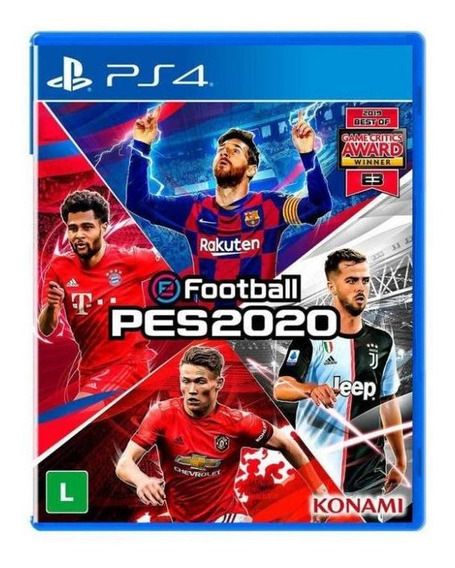 Jogo Game Efootball Pro Evolution Soccer 2020 Ps4 - Konami