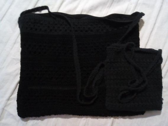 Bolsos Al Crochet Distintos Tamaños