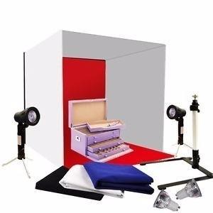 Mini Estúdio Fotográfico Portátil Produtos Pequeno Tenda Biv