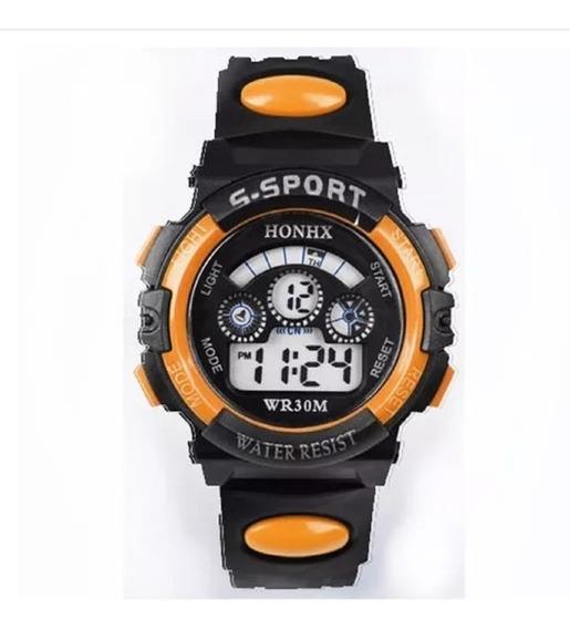 Relógio Infantil Menino, Digital Led, Sport + Frete
