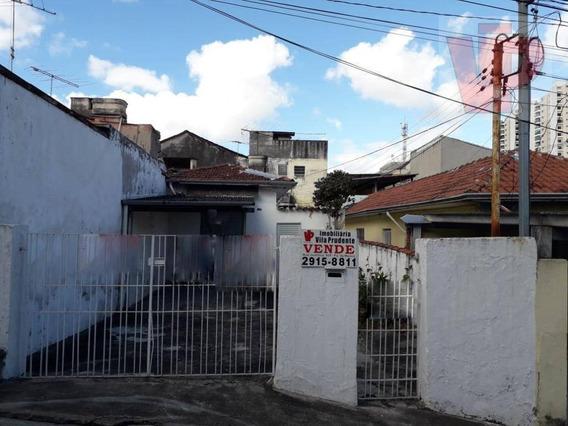 Terreno À Venda, 136 M² Por R$ 380.000 - Vila Prudente - São Paulo/sp - Te0234