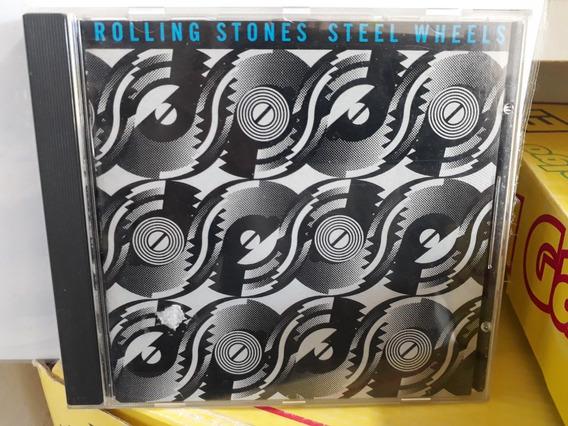 The Rolling Stones*cd*steel Wheels*imp. Usa.*muy Bueno