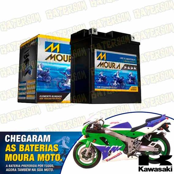 Bateria Moura Moto 10ah Kawasaki Ninja Zx-7