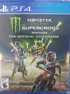 Monster Energy Supercross The Official Videogame Ps4 Español