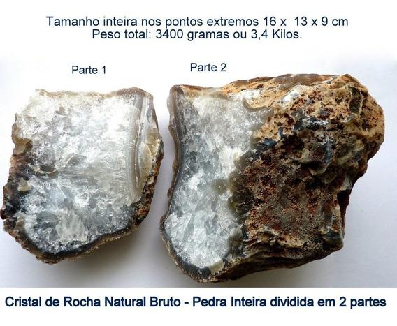 Cristal De Rocha Bruto Pedra Preciosa Natural 7117