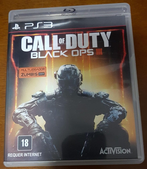 Jogo Ps3 -call Of Duty Black Ops 3