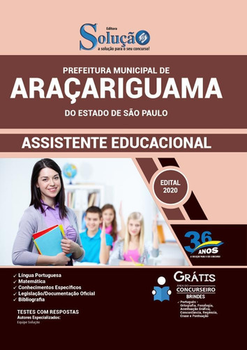 Apostila Concurso Araçariguama Sp - Assistente Educacional