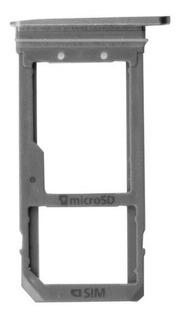 Bandeja Sim Micro Sd Samsung Galaxy S7 G930 Plateado Silver
