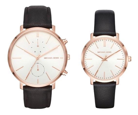 Oferta Reloj Para El Y Ella Michael Kors Mk3859 Negro