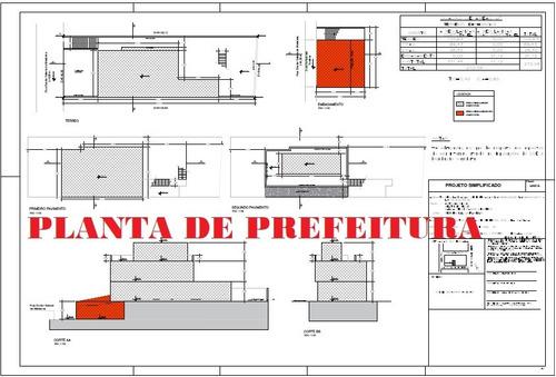 Imagem 1 de 4 de Planta De Prefeitura/ Regularização/ Aprovação/ Anistia