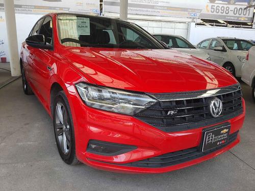 Imagen 1 de 12 de Volkswagen  Jetta  2019  4p R-line L4/1.4/t Aut